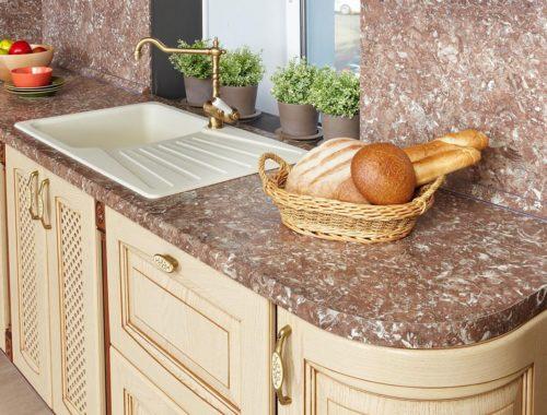 ширина столешницы для кухни