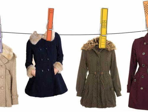 как постирать пальто дома