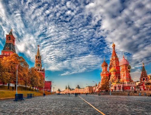 Красная площадь Россия