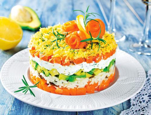 вкусные салаты с рыбой