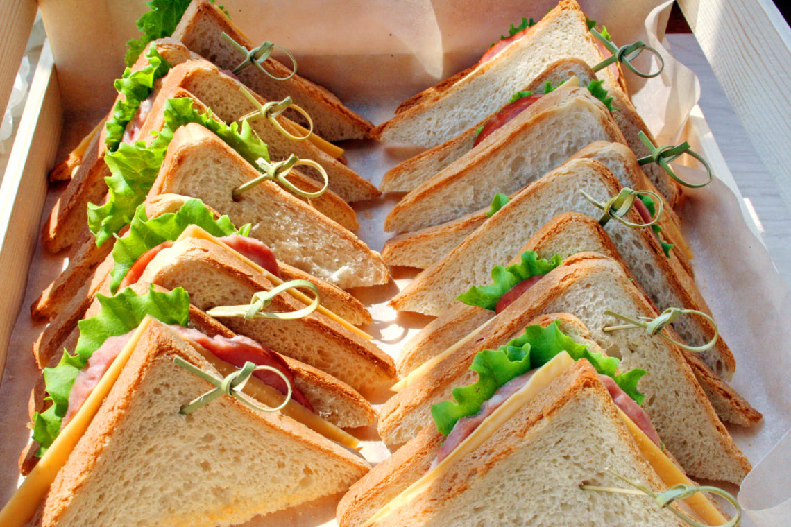 мини сэндвичи в дорогу