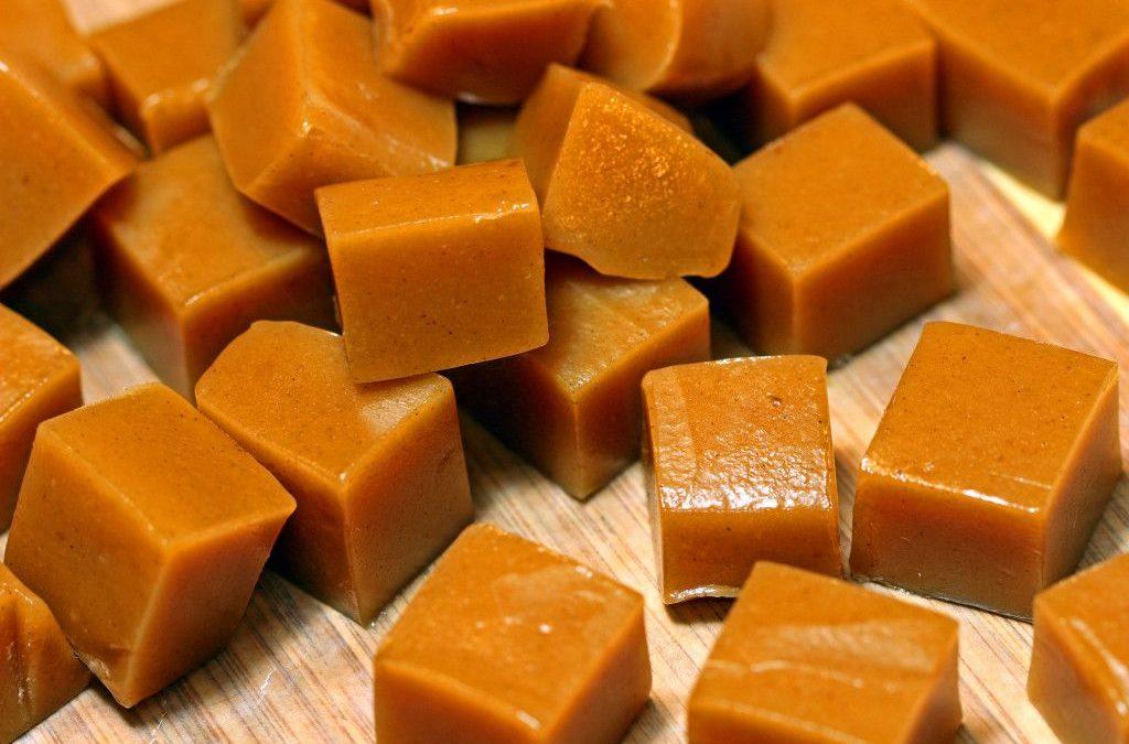 конфеты коровка