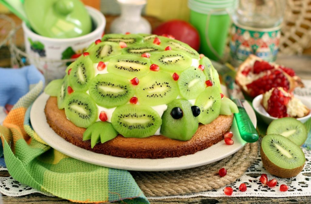 салат зеленая черепаха