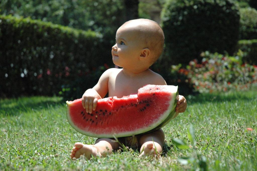 польза арбуза для детей