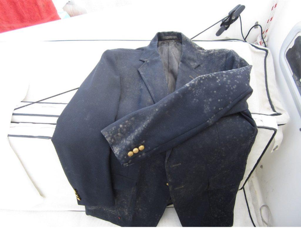 грибок на одежде